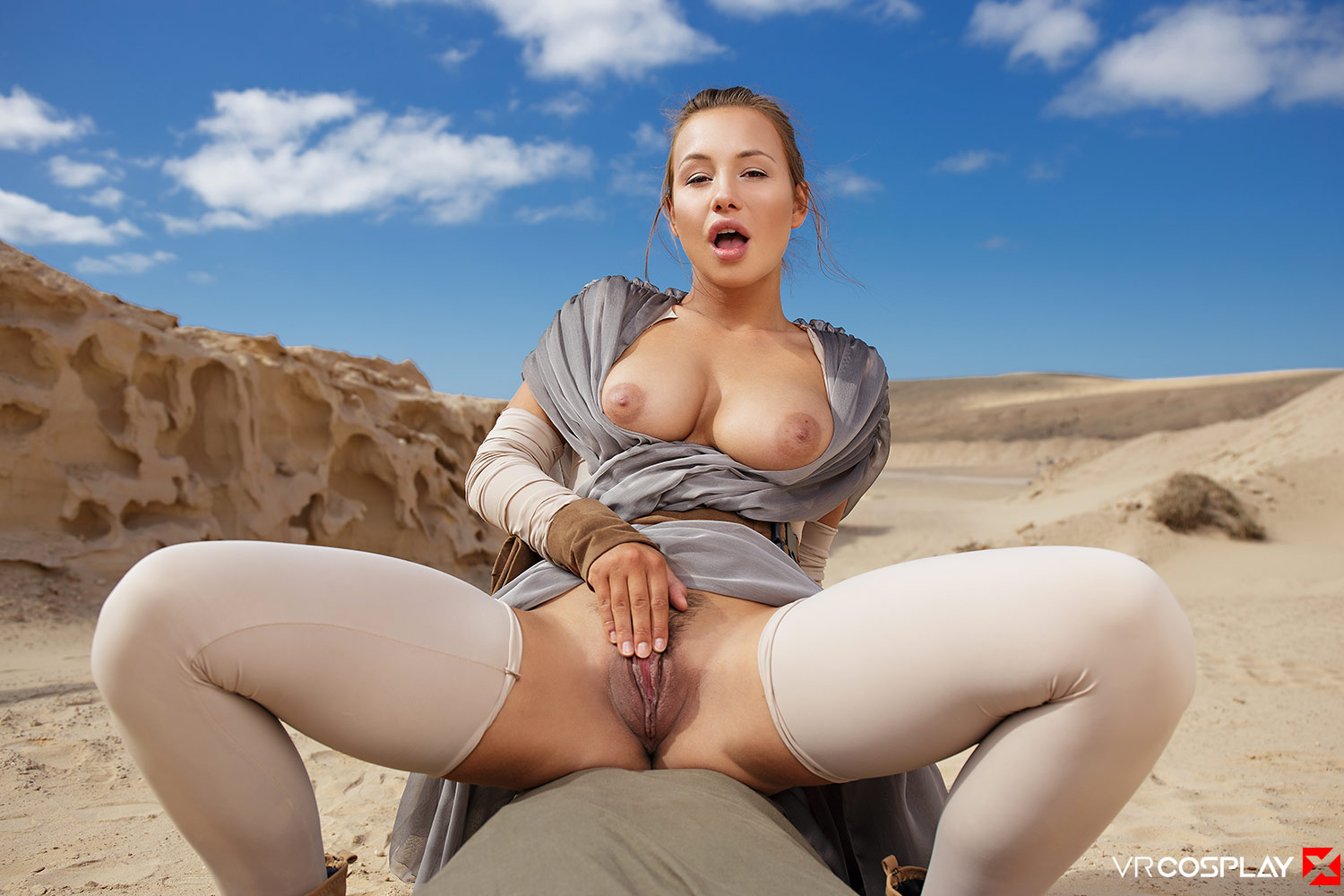 Star Wars Vr Porn Cosplay Starring Taylor Sands As Rey -5288