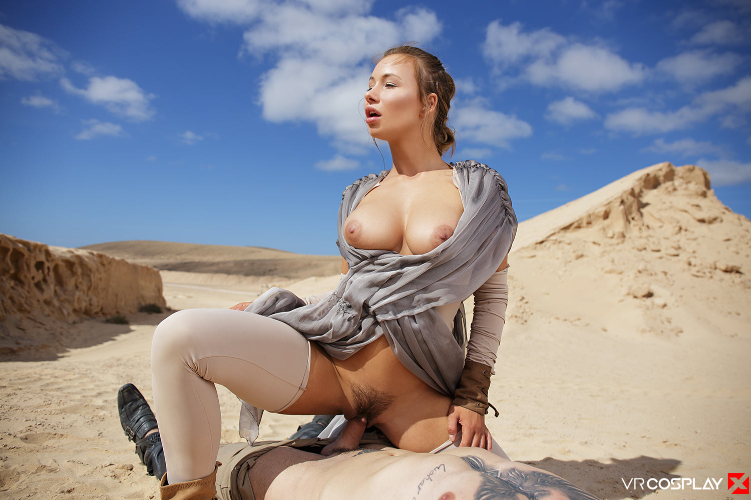 Star Wars Vr Porn Cosplay Starring Taylor Sands As Rey -2206