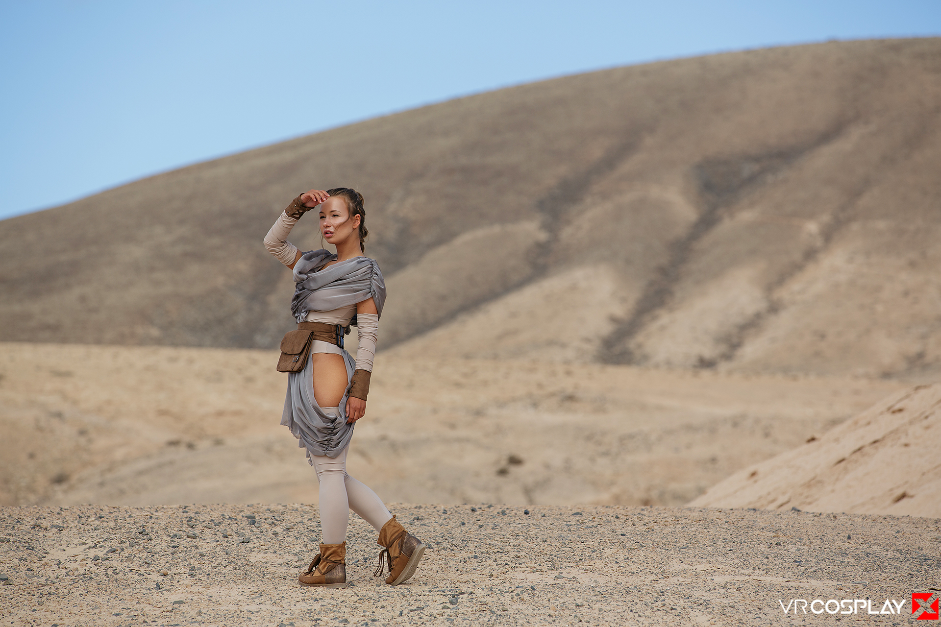 Star Wars Vr Porn Cosplay Starring Taylor Sands As Rey -1781