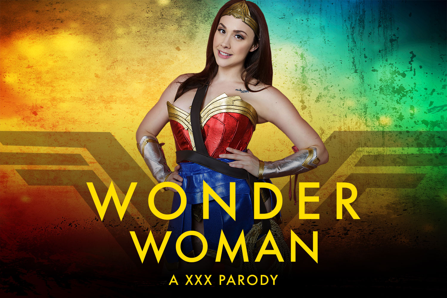 Wonder Woman Vr Porn Cosplay Starring Chanel Preston  Vr -4239