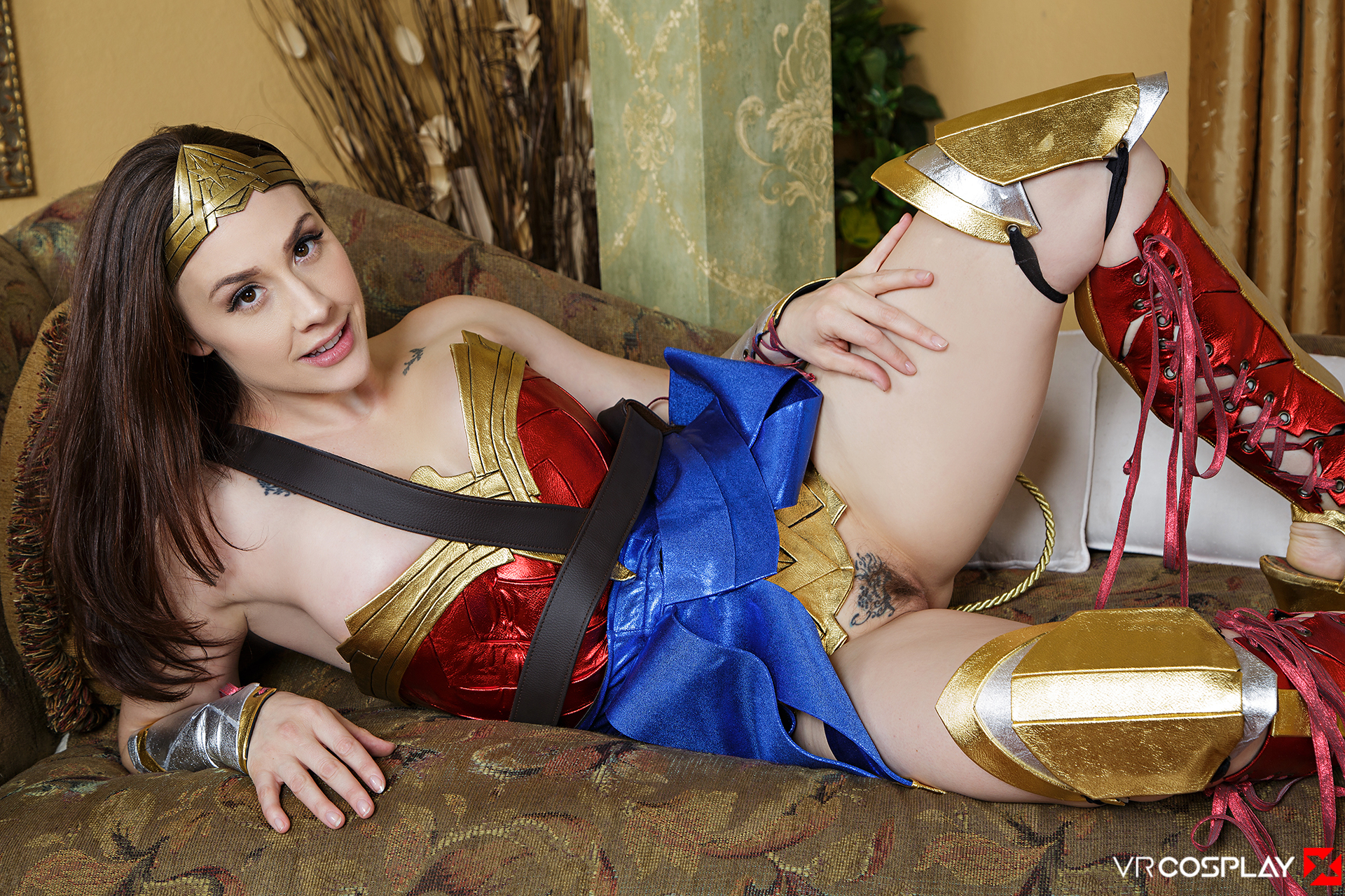 Wonder Woman Vr Porn Cosplay Starring Chanel Preston -6222