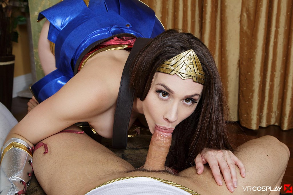 Wonder Woman Vr Porn Cosplay Starring Chanel Preston -4199