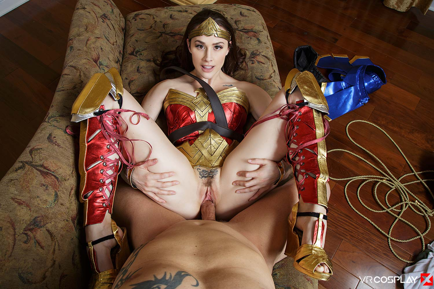 from Grey wonder woman cosplay porn