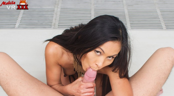 Asian stepmom sucks