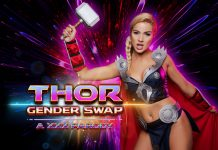 Gender-Swapped Thor Assfucked in VR Anal Parody